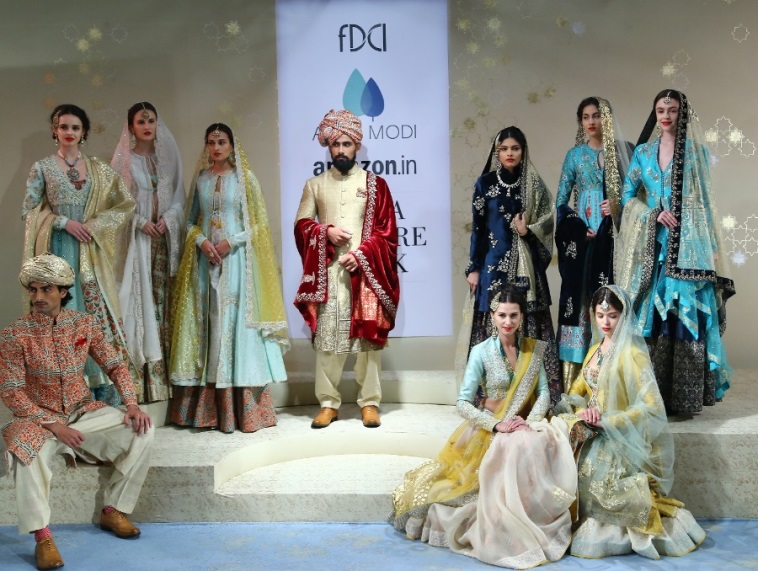 Amazon India Couture Week:Beauty Meets Opulence