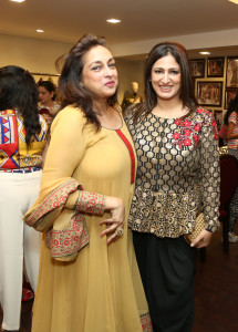 Naina Balsavar and Bela Madan find the collection so wearable and in.