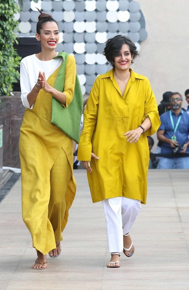 Model-with-Payal-Khandwaka-at-LFW-SR-2016