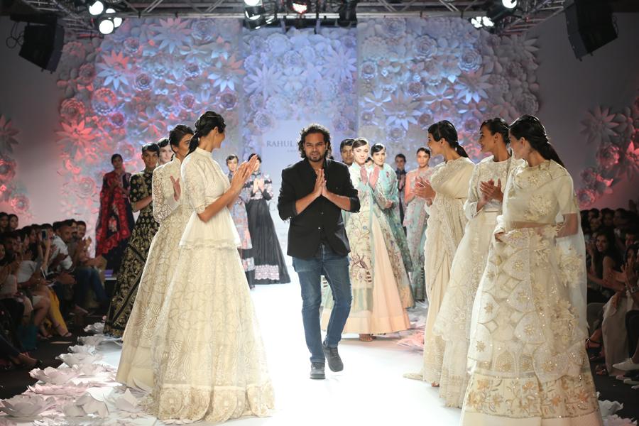 Designer Rahul Mishra presented Monsoon Diaries (8) @ FDCI India Couture Week 2016