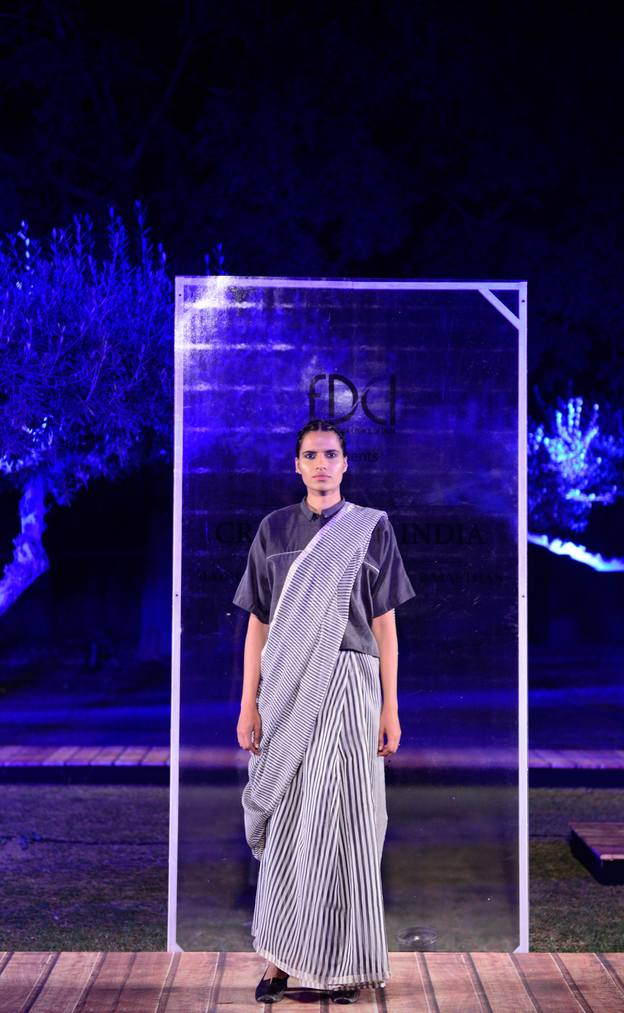 Sanjay-Garg-at-FDCI-presents-Crafted-in-India,-representing-Madhya-Pradesh.