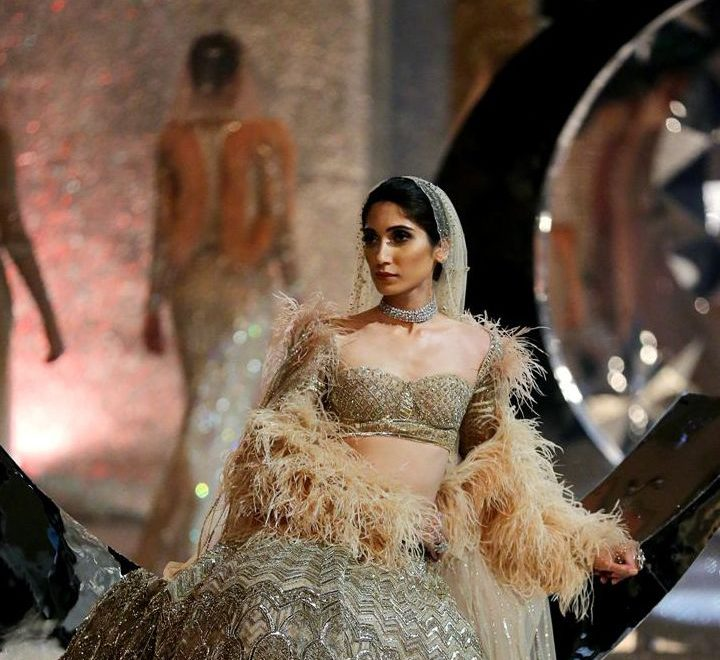 Falguni Shane Peacock debut show at India Couture Week an Excellent Fusion of Indian & French Art