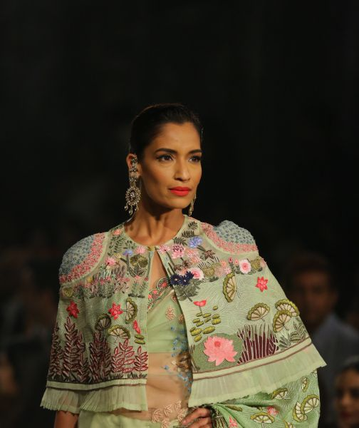 RAHUL MISHRA's Couture Maraasim Mesmerised Audience at ICW,2018