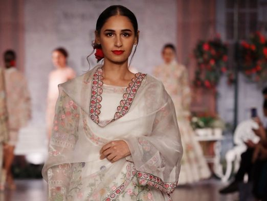"""""""This collection is an attempt to paint the emotion that riles up your normal and takes you into a euphoric bliss. """"-RAHUL MISHRA"""