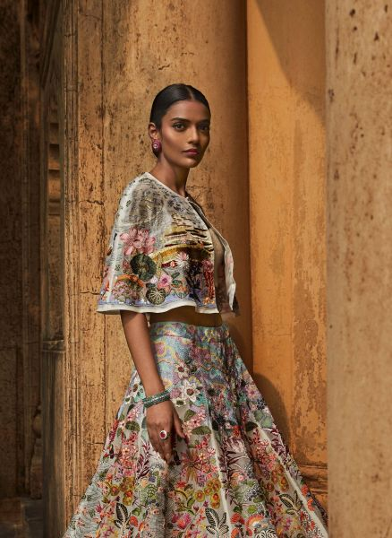 RAHUL MISHRA DECODED FESTIVE COUTURE AT ICW WITH 'LOTUS POND'